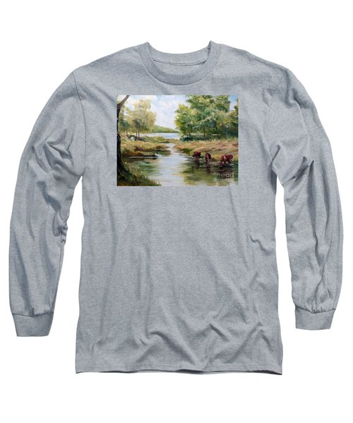 Waterloo Long Sleeve T-Shirt by Lee Piper