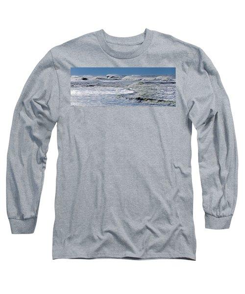 Waves Off Sandfiddler Rd Corolla Nc Long Sleeve T-Shirt