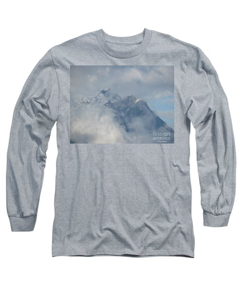 Long Sleeve T-Shirt featuring the photograph Way Up Here by Greg Patzer