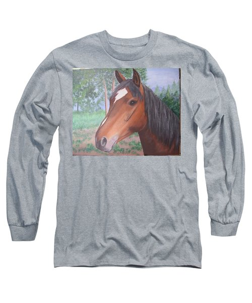 Wayne's Horse Long Sleeve T-Shirt