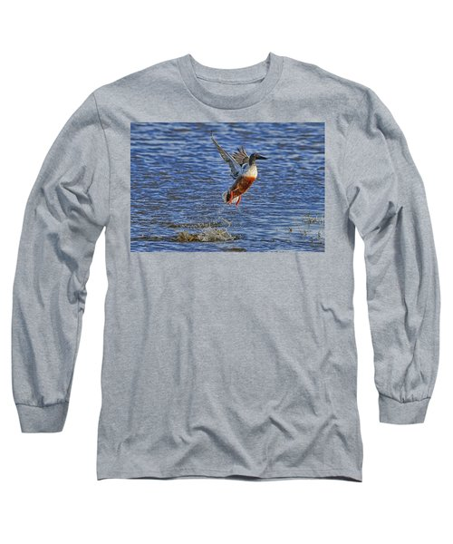 Long Sleeve T-Shirt featuring the photograph We Have Liftoff by Gary Holmes