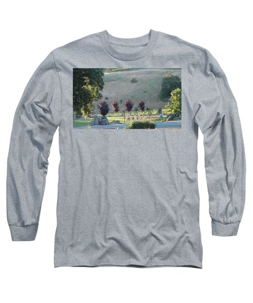 Long Sleeve T-Shirt featuring the photograph Wedding Grounds by Shawn Marlow