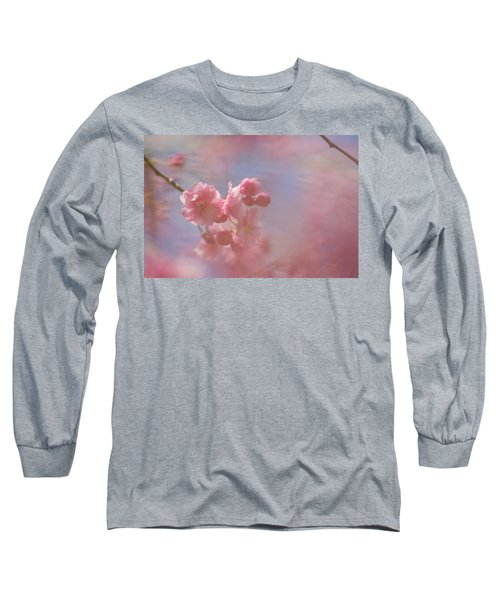 Weeping Cherry Blossoms Long Sleeve T-Shirt