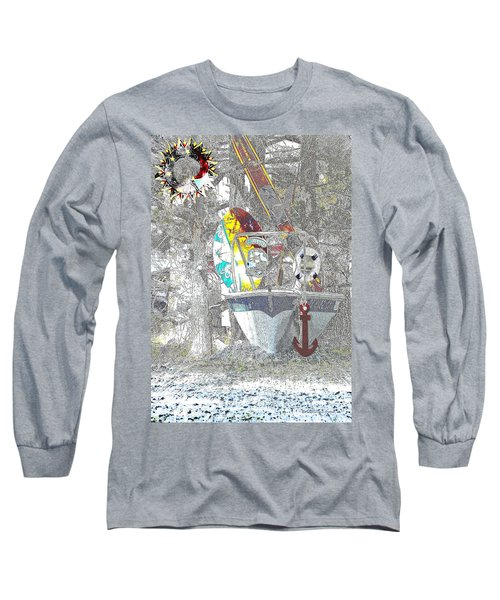 Welcome Bow Long Sleeve T-Shirt