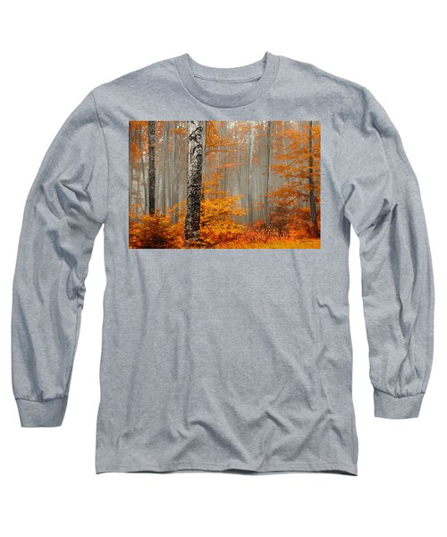Welcome To Orange Forest Long Sleeve T-Shirt