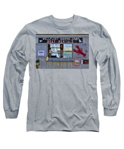 Wellfleet Harbor Thru The Window Long Sleeve T-Shirt