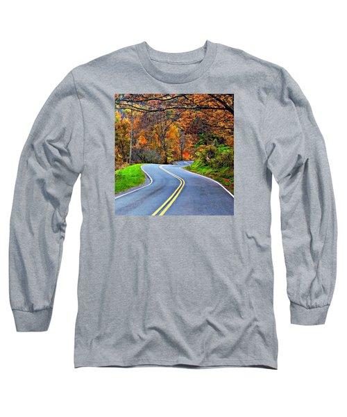 West Virginia Curves 2 Long Sleeve T-Shirt