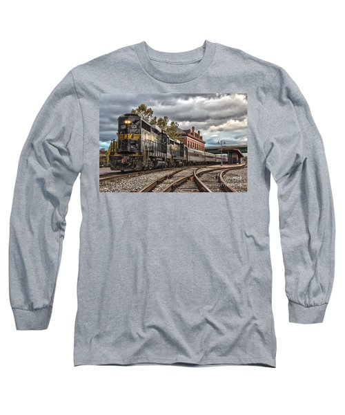 Western Maryland Scenic Railroad Long Sleeve T-Shirt