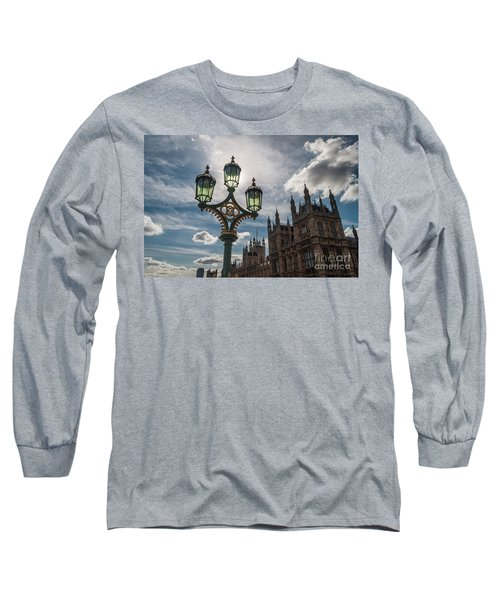 Long Sleeve T-Shirt featuring the photograph Westminster by Matt Malloy