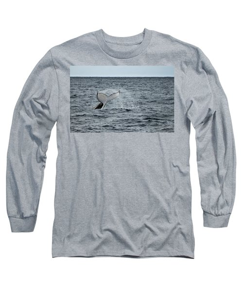 Long Sleeve T-Shirt featuring the photograph Whale Of A Time by Miroslava Jurcik