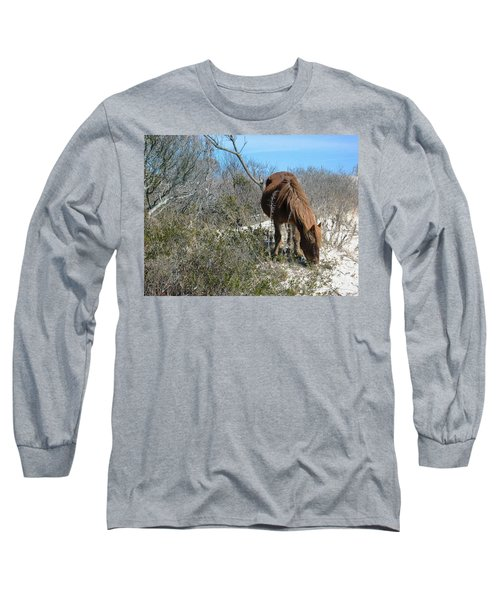 What Do I See Here? Long Sleeve T-Shirt by Photographic Arts And Design Studio