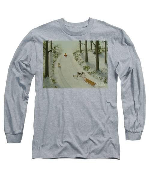 What They Do While We're At Work II Long Sleeve T-Shirt