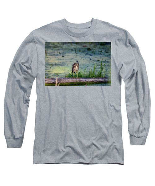 Long Sleeve T-Shirt featuring the photograph Whatcou Lookin' At? by David Porteus