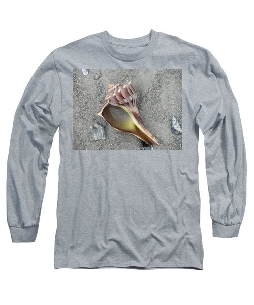 Whelk With Sand Long Sleeve T-Shirt