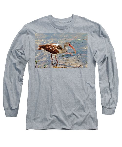 White Ibis Juvenile Long Sleeve T-Shirt
