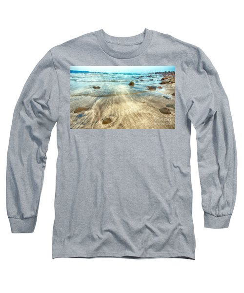White Sand Beach Long Sleeve T-Shirt