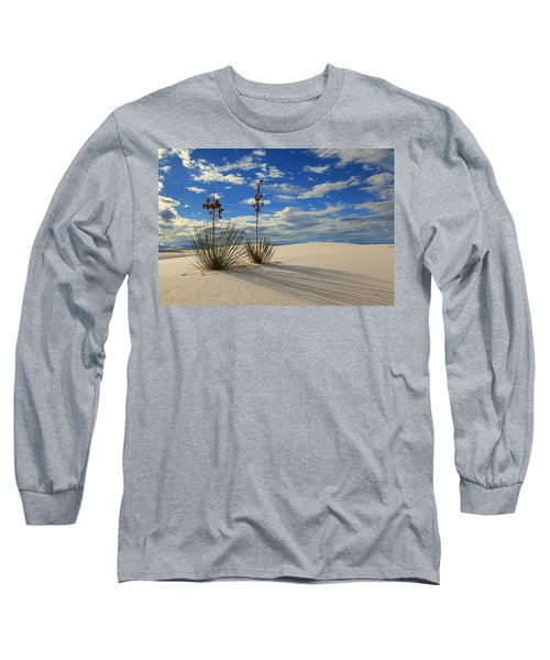 White Sands Afternoon 2 Long Sleeve T-Shirt