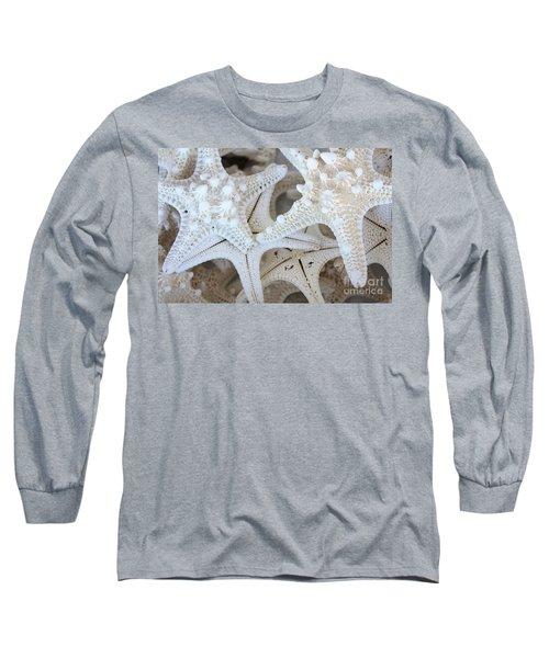 White Starfish Long Sleeve T-Shirt