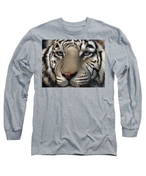 White Tiger - Up Close And Personal Long Sleeve T-Shirt