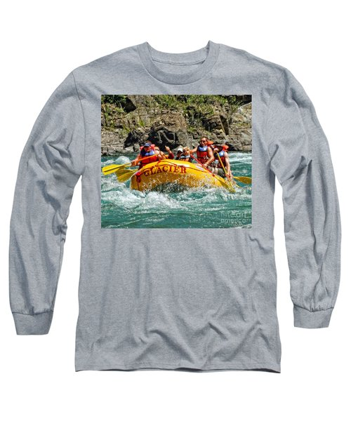 White Water Fun Long Sleeve T-Shirt