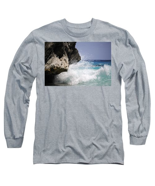 White Water Paradise Long Sleeve T-Shirt