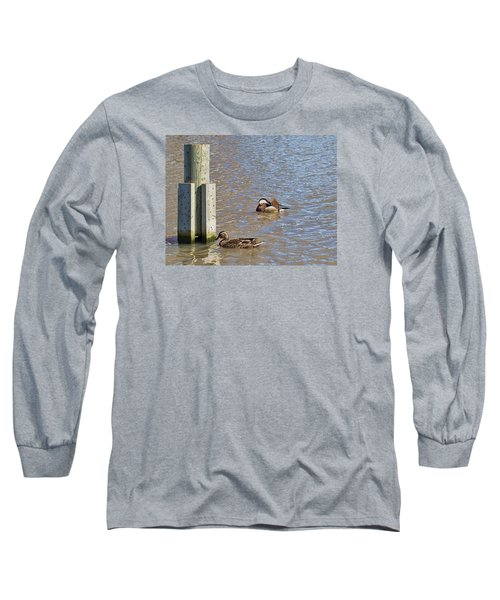 Long Sleeve T-Shirt featuring the photograph who is who by Leif Sohlman- by Leif Sohlman