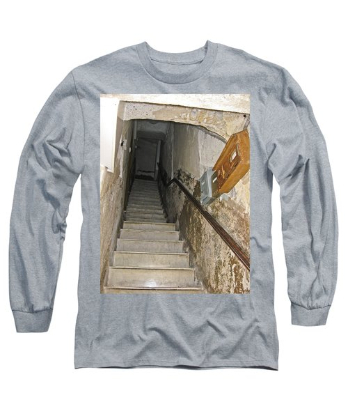 Long Sleeve T-Shirt featuring the photograph Who Lives Here? by Allen Sheffield