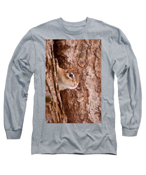 Whos That Knocking On My Door Long Sleeve T-Shirt