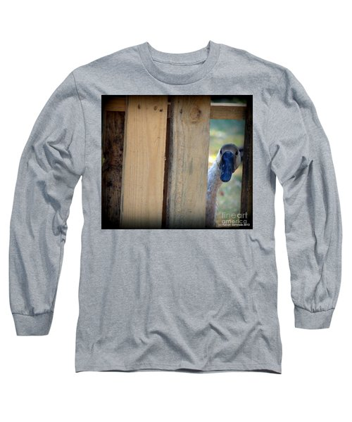 Whose Out There Long Sleeve T-Shirt