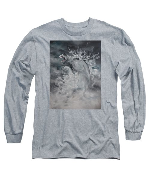 Long Sleeve T-Shirt featuring the painting Wild And Free by Jean Walker