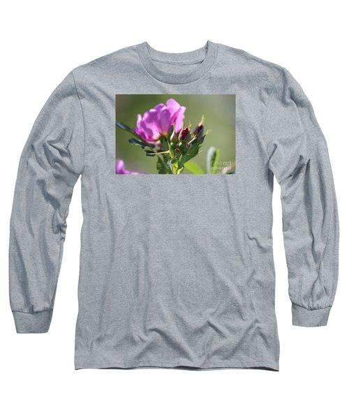 Wild Rose Long Sleeve T-Shirt