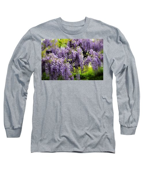 Wild Wisteria Long Sleeve T-Shirt