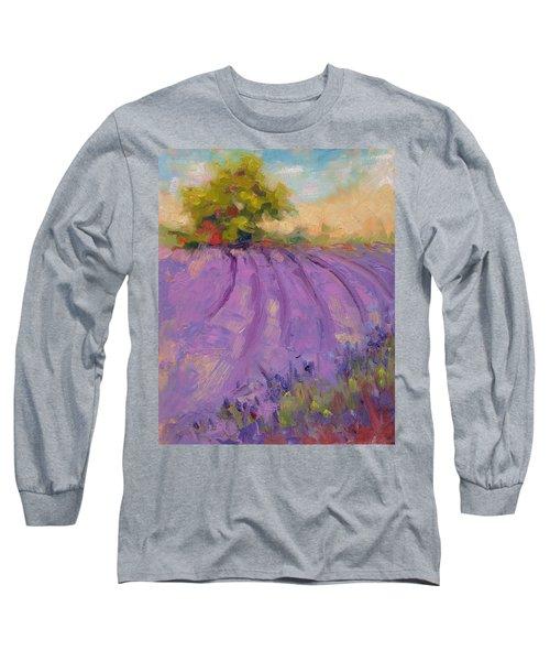 Wildrain Lavender Farm Long Sleeve T-Shirt