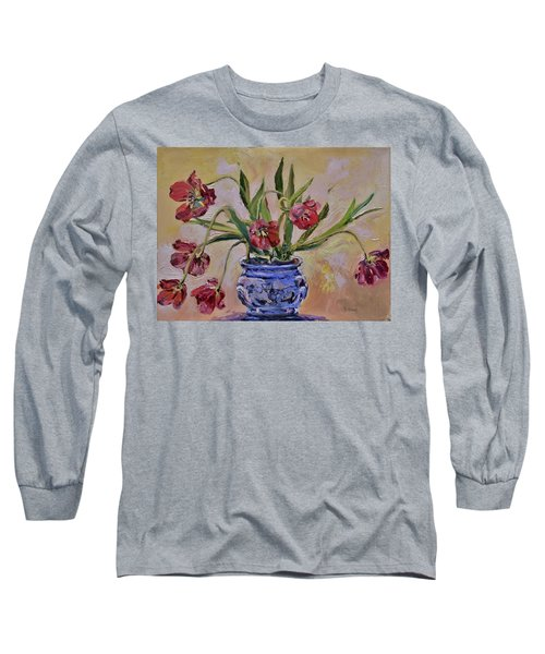 Wilting Tulips Long Sleeve T-Shirt