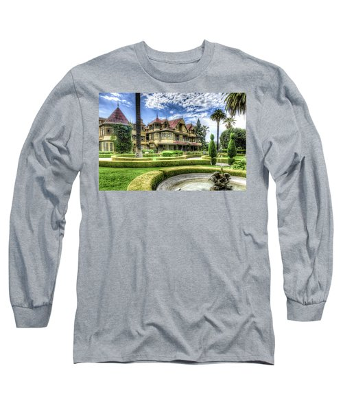 Winchester Mystery House Long Sleeve T-Shirt by Jim Thompson