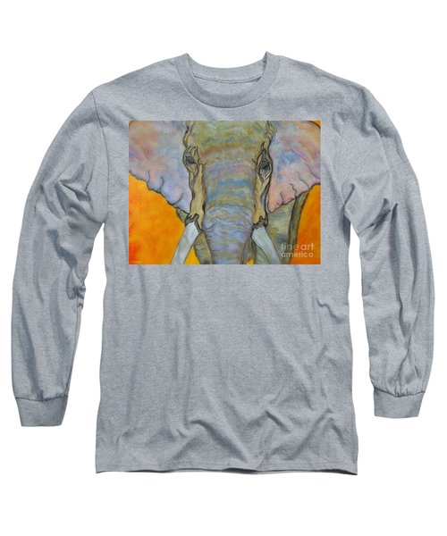 Wind And Fire - Fine Art Painting Long Sleeve T-Shirt