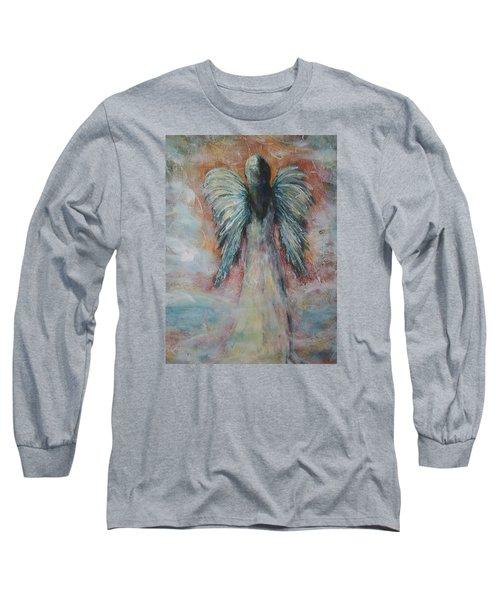 Wind In My Wings, Angel Long Sleeve T-Shirt