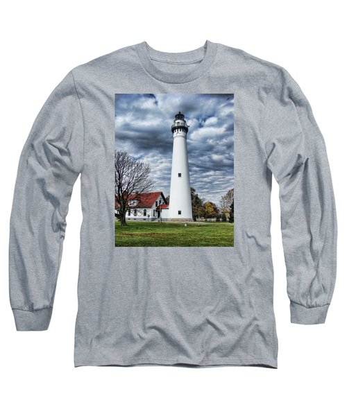 Wind Point Lighthouse Long Sleeve T-Shirt