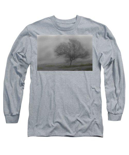 Wind Swept Tree Long Sleeve T-Shirt