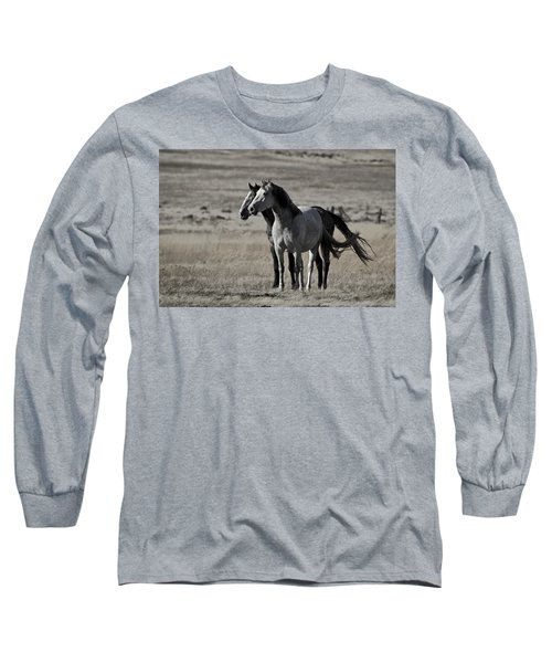 Windblown Long Sleeve T-Shirt by Wes and Dotty Weber