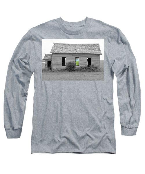 Window To The Future Long Sleeve T-Shirt
