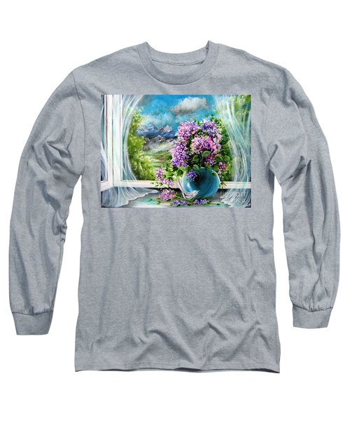 Windows Of My World Long Sleeve T-Shirt by Patrice Torrillo