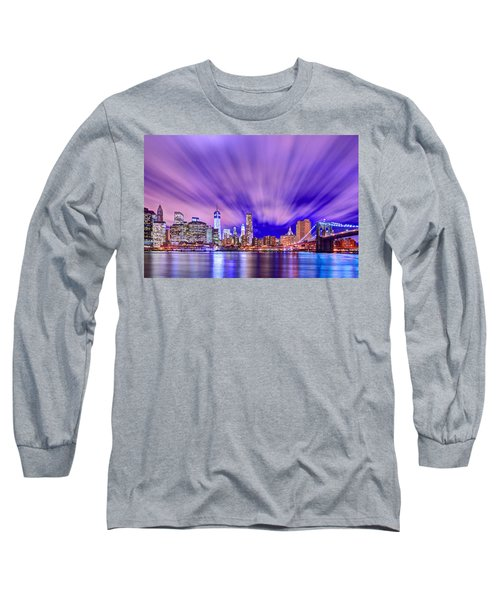 Winds Of Lights Long Sleeve T-Shirt by Midori Chan