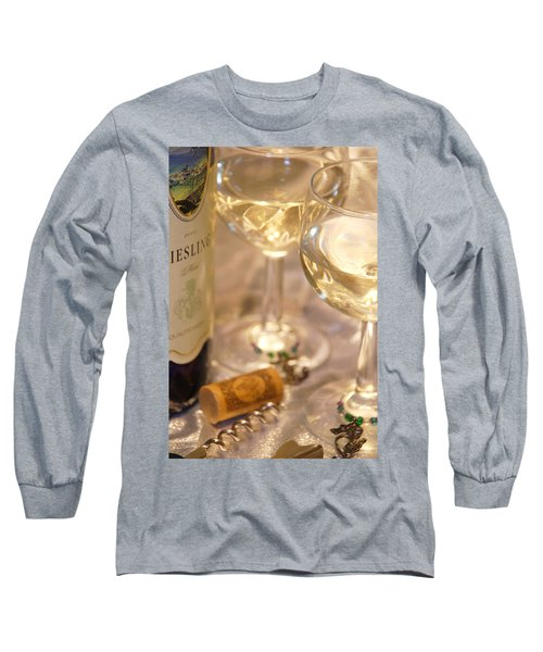 Wine With Friends Long Sleeve T-Shirt