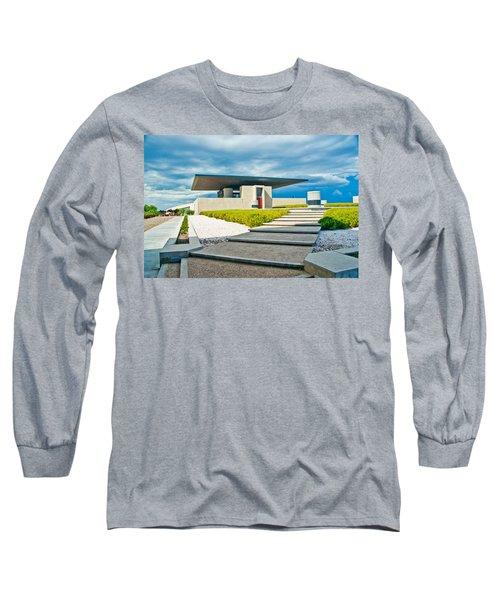 Winery Modernism Long Sleeve T-Shirt
