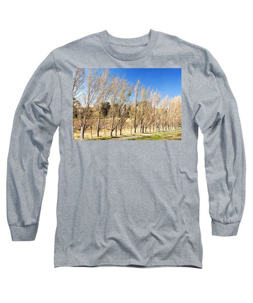 Long Sleeve T-Shirt featuring the photograph Winery by Yew Kwang