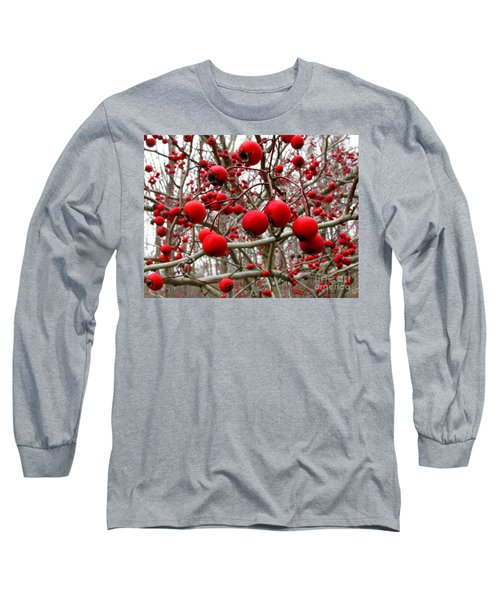 Winter Berryscape Long Sleeve T-Shirt