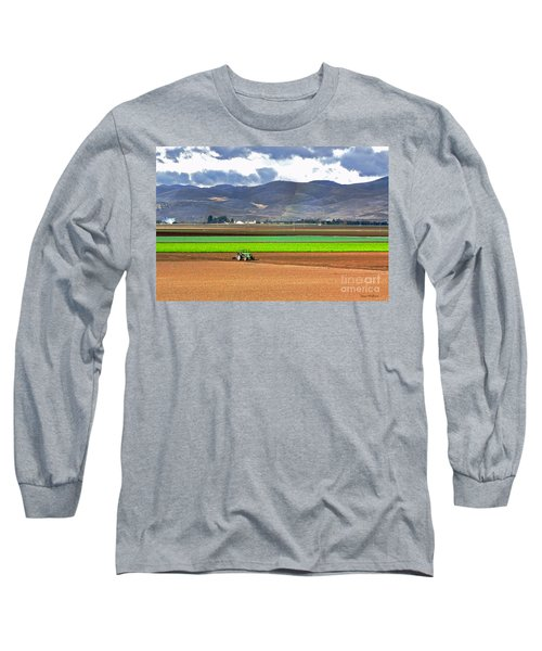 Winter Farm In California Long Sleeve T-Shirt