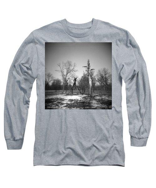 Winter Forest Series 4 Long Sleeve T-Shirt by Verana Stark