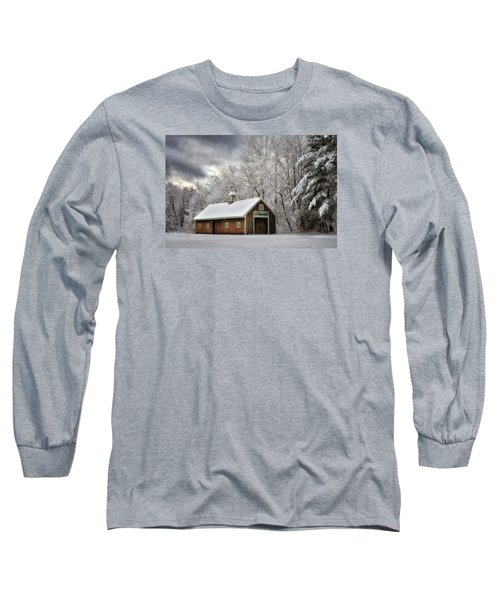 Winter Glow Long Sleeve T-Shirt by Tricia Marchlik